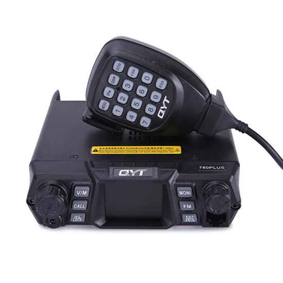 qyt kt-780 plus band tunggal tampilan quad transceiver ham radio