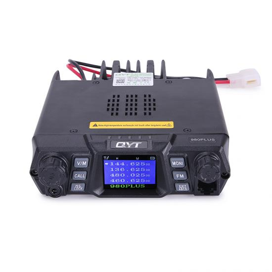 QYT KT-980Plus dual band quad display transceiver radio ham