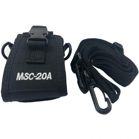 msc-20a nilon pouch case cover holder untuk baofeng uv-5r bf-888s