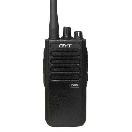 qyt d68 vhf dmr digital walkie talkie profesional